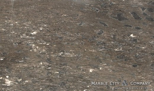 Black Forest White - Granite Countertops San Francisco, California. Close up view — Close Up View