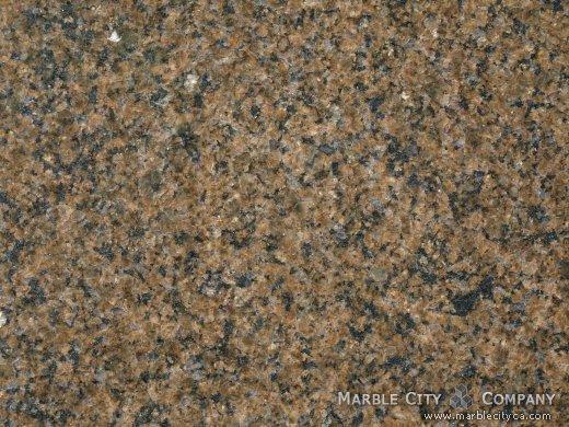 Tropical Brown - Granite Countertops Bay Area, California. Macro view — Macro View