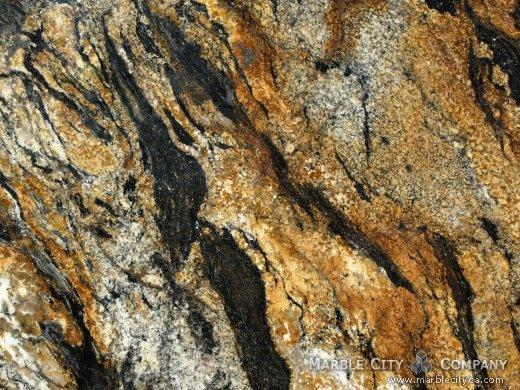 Comet Granite - Granite Countertops Bay Area, California. Macro view — Macro View