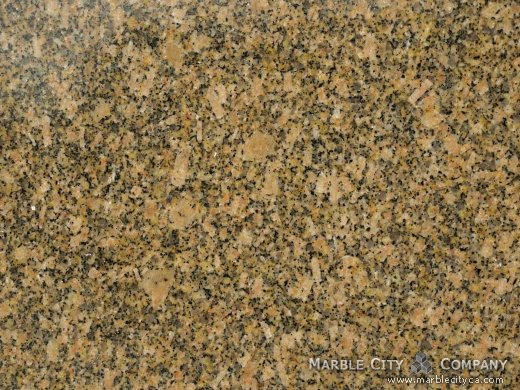 Carioca Gold - Granite Countertops Bay Area, California. Macro view — Macro View
