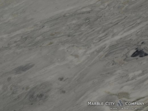Calacatta Bluetta - Marble Countertops Bay Area, California. Macro view — Macro View