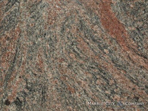 Tiffany - Granite Countertops San Francisco, California. Macro view — Macro View