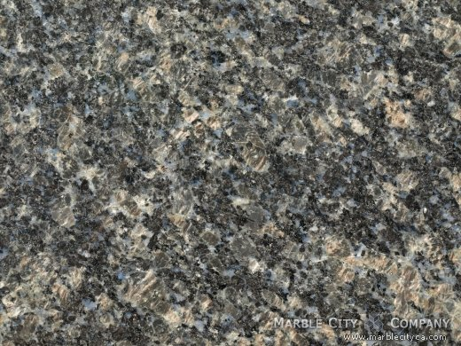 Sapphire Blue - Granite Countertops San Francisco, California. Macro view — Macro View