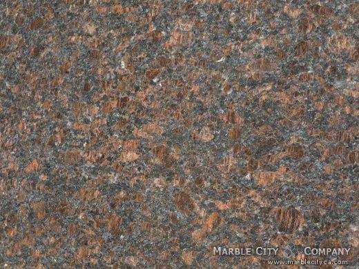 Tan Brown - Granite Countertops San Jose, California. Macro view — Macro View