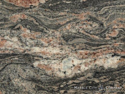 Tropical Bahia - Granite Countertops Bay Area, California. Macro view — Macro View