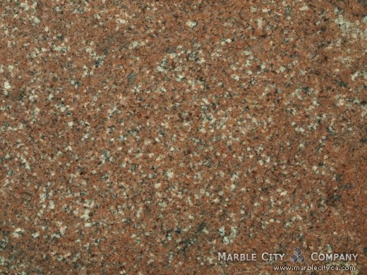 Burgundy - Granite Countertops San Jose, California. Macro view — Macro View