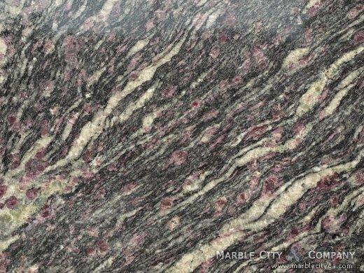 Ametista - Granite Countertops Bay Area, California. Macro view — Macro View