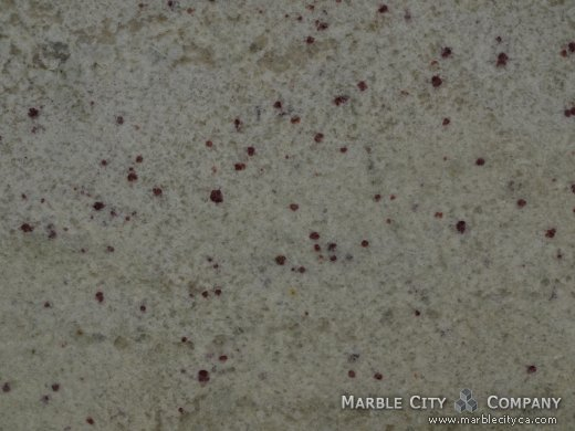 White Palmas - Granite Countertops San Francisco. Macro view — Macro View