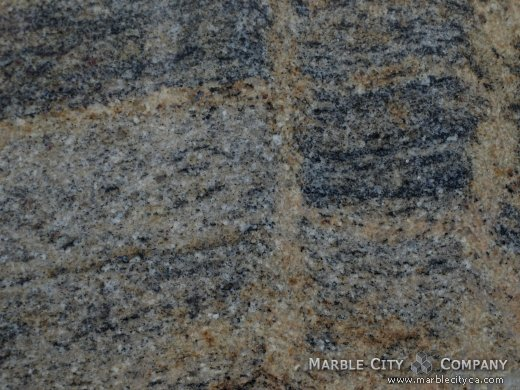 Juparana Fantastico - Granite Countertops San Francisco, California. Macro view — Macro View