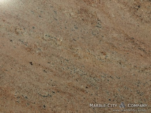 Juparana Vyhara - Granite Countertops San Francisco, California. Macro view — Macro View