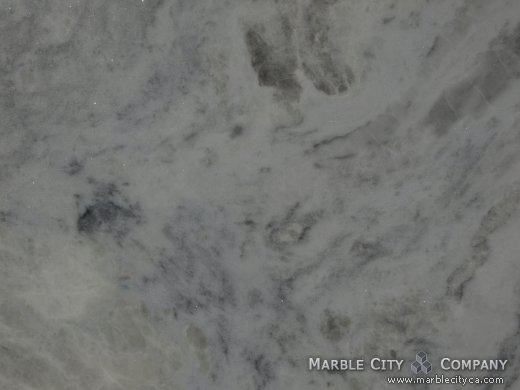 Blue Sky - Marble Countertops San Francisco, California. Macro view — Macro View