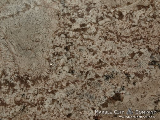 Bianco Antico - Granite Countertops Bay Area, California. Macro view — Macro View