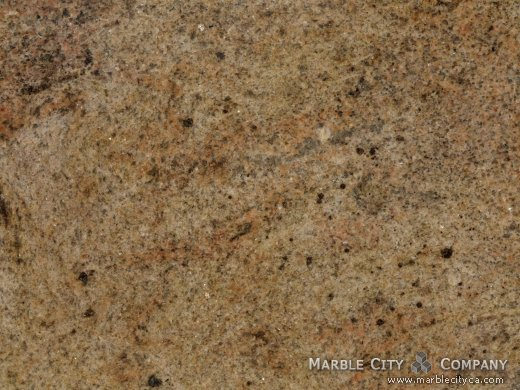 Madura Gold - Granite Countertops Bay Area, California. Macro view — Macro View