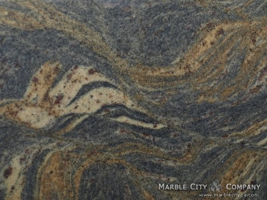 Fantastic Brown - Granite Countertops San Francisco, California. Macro view — Macro View