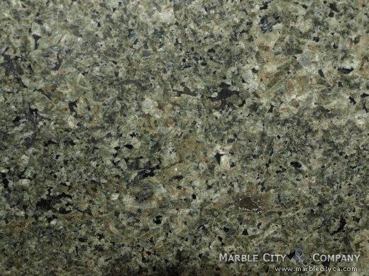 Emerald Green - Granite Countertops Bay Area, California. Macro view — Macro View