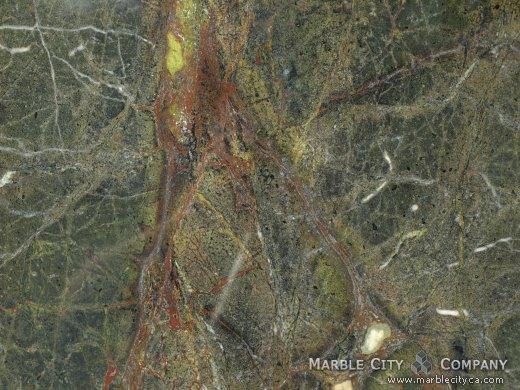 Golden Lighting - Granite Countertops Bay Area, California. Macro view — Macro View