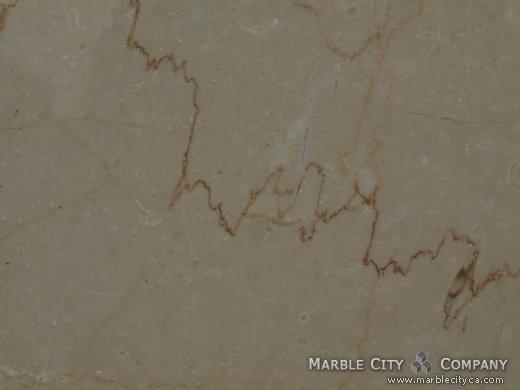 Botticino - Marble Countertops San Jose, California. Macro view — Macro View