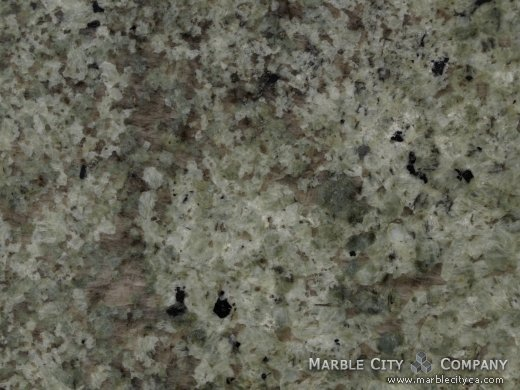 Namib Green - Granite Countertops Bay Area, California. Macro view — Macro View