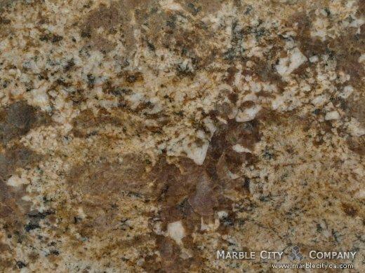 Pompei - Granite Countertops San Francisco, California. Macro view — Macro View