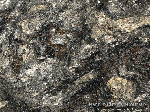 Metallic - Granite Countertops Bay Area, California. Macro view — Macro View