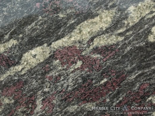 Amadeus Italy - Granite Countertops San Francisco, California. Macro view — Macro View