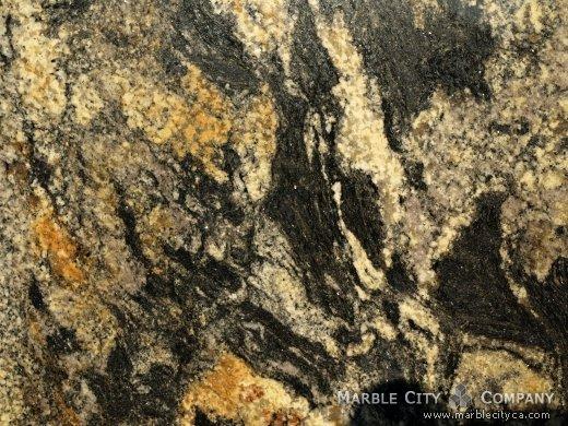 Comet New - Granite Countertops Bay Area, California. Macro view — Macro View