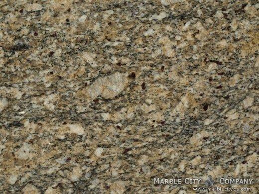 Santo Agostino - Granite Countertops in San Jose, California. Macro view — Macro View