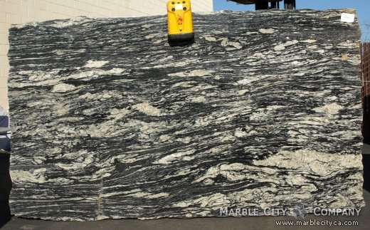 Amadeus Granite Countertops Bay Area, California. Slab view — Slab View