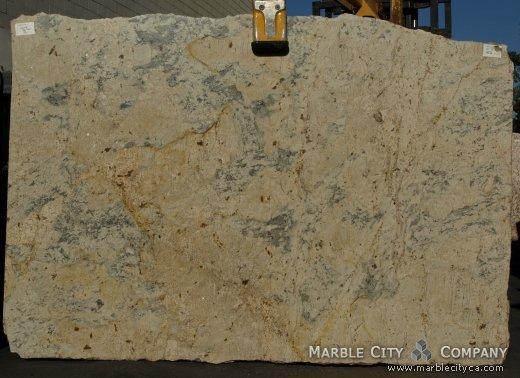 Crema Romano - Granite Countertops San Jose, California. Slab view — Slab View
