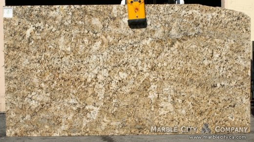 Honey - Granite Countertops in Bay Area, California. Slab view — Slab View