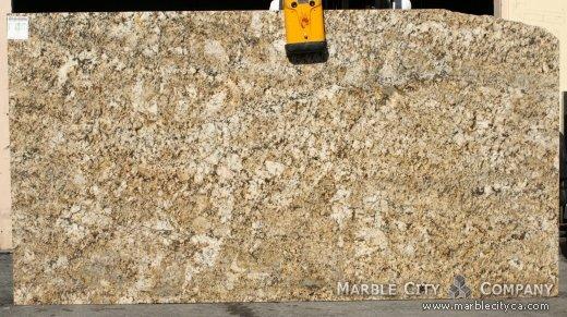 Honey Granite Slabs : Honey granite stone countertops at marblecity