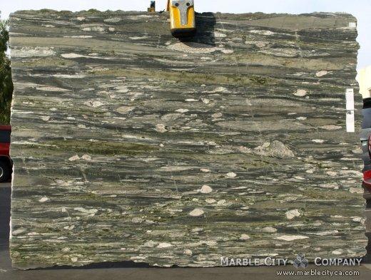 Verde Fashion - Granite Countertops Bay Area, California. Slab view — Slab View
