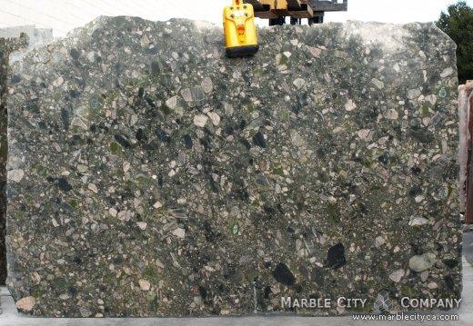 Green Marinace - Granite Countertops San Jose, California. Slab view — Slab View