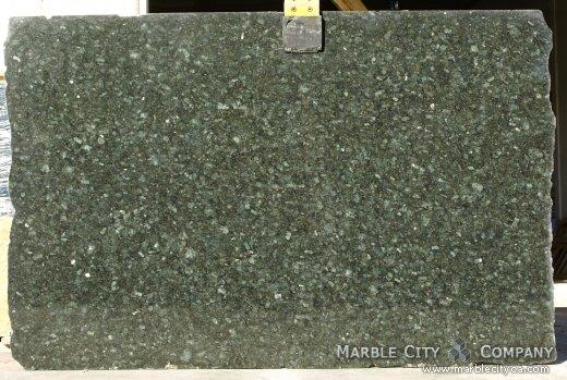 Pickock Green - Granite Countertops San Francisco, California. Slab view — Slab View