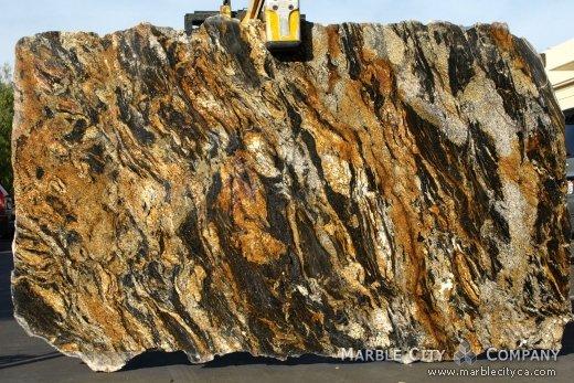 Comet Granite - Granite Countertops Bay Area, California. Slab view — Slab View