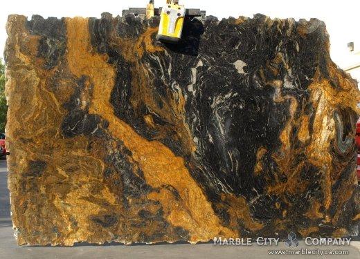 Capuccino - Granite Countertops Bay Area, California. Slab view — Slab View