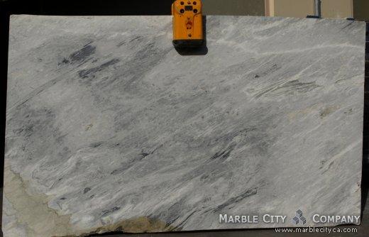 Calacatta Bluetta - Marble Countertops Bay Area, California. Slab view — Slab View