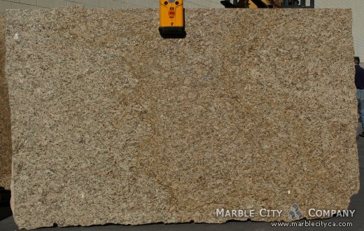 Santa Cecilia - Granite Countertops San Jose, California. Slab view — Slab View