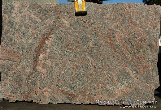 Tiffany - Granite Countertops San Francisco, California. Slab view — Slab View