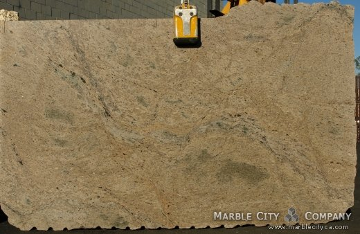 Giallo Sabia - Granite Countertops Bay Area, California. Slab view — Slab View