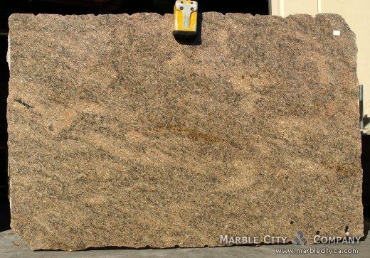 Key West Gold - Granite Countertops San Jose, California. Slab view — Slab View