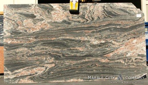 Tropical Bahia - Granite Countertops Bay Area, California. Slab view — Slab View
