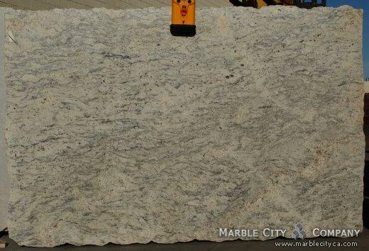 Bianco Romano - Granite Countertops San Jose, California. Slab view — Slab View
