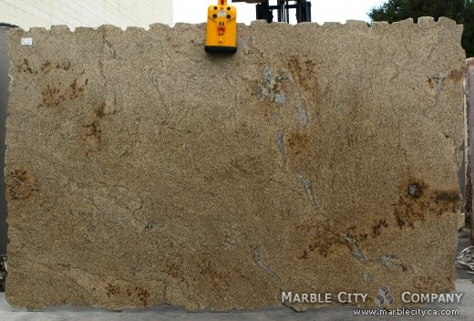 Golden Wave - Granite Countertops San Francisco, California. Slab view — Slab View