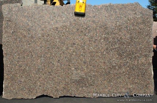 Bahia Bordeaux - Granite Countertops San Francisco, California. Slab view — Slab View