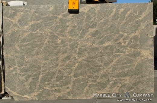 Summer White Granite Countertops Bay Area, California. Slab view — Slab View