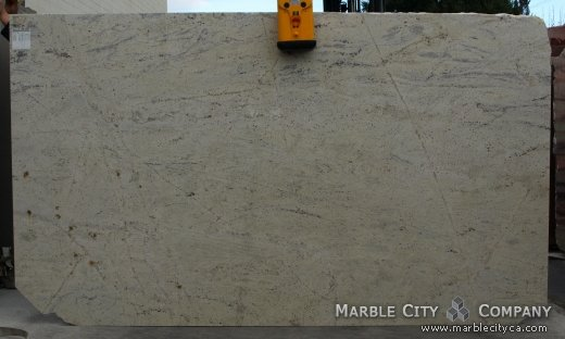 White Palmas - Granite Countertops San Francisco. Slab view — Slab View