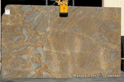 Summer Light - Granite Countertops San Francisco, California. Slab view — Slab View