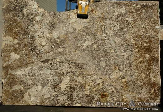 Golden Lace - Granite Countertops San Jose, California. Slab view — Slab View