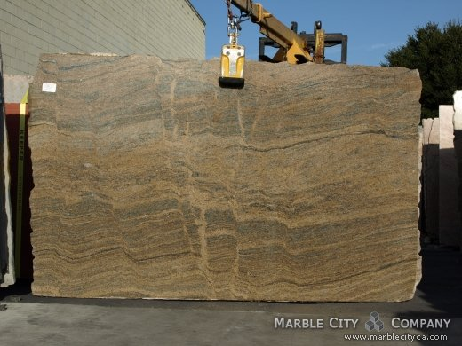 Juparana Fantastico - Granite Countertops San Francisco, California. Slab view — Slab View